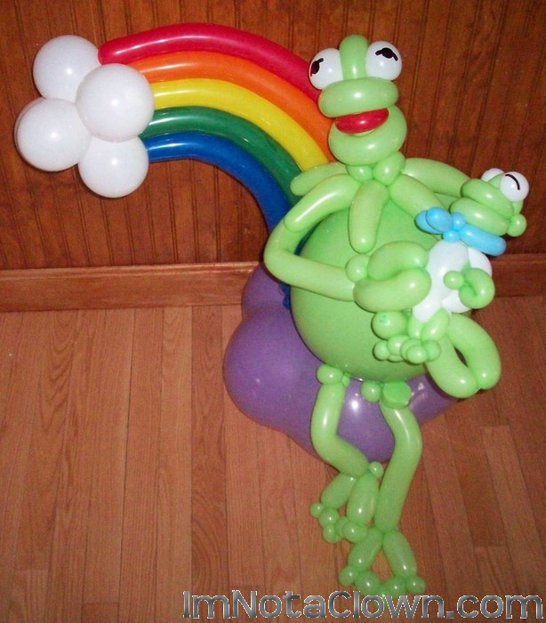 Balloon Kermit - He Really Sings, check out this model on the Video Page of imnotaclown.com