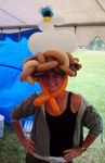 Balloon Chicken Nesting Hat