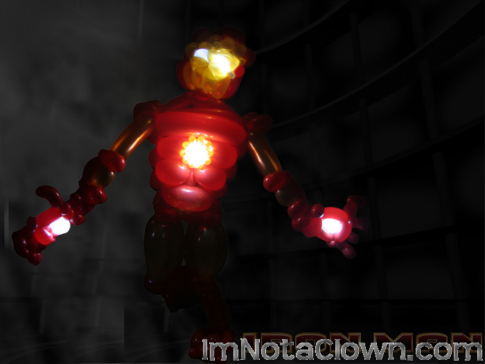 Ironman Ready for Action