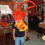 Balloon Dragon Mask