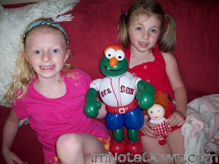 Wally the Green Monster, See his Wiki page here