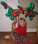 Balloon Apple Tree