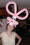 Balloon Bunny Hat