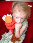 Balloon Elmo Puppet