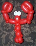 Happy Balloon Lobster.