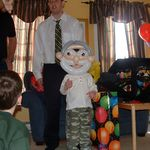 Balloon Old Man Mask
