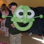 Balloon Shrek Mask