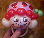 Strawberry Shortcake Balloon Bracelet