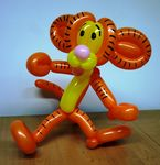 Balloon Cartoon Tiger